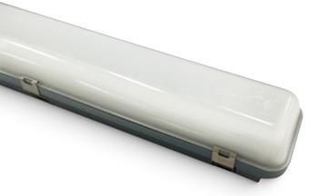 Plafoniera A Led 120 Cm : Led feuchtrauml doppelt cm w lm k ip Öko