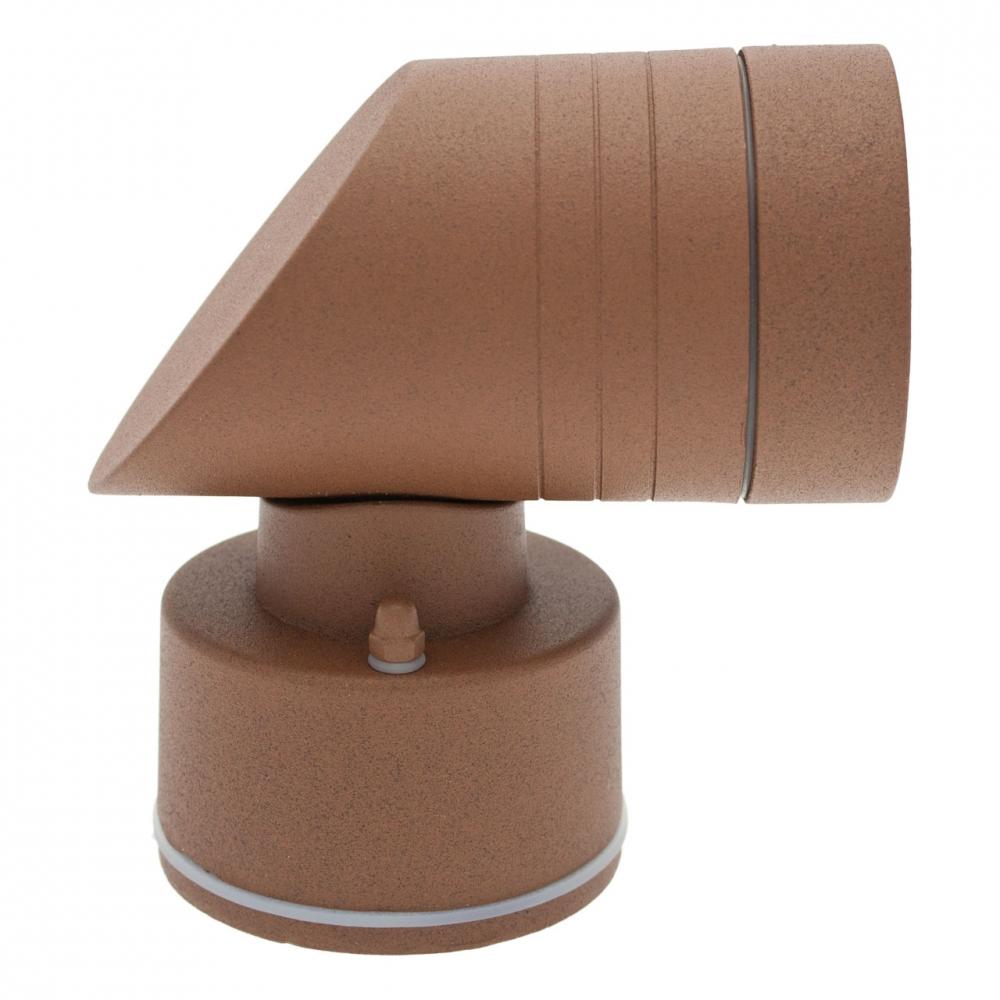 wandleuchte led wei 3w rost braun ip54 aluminium ko light service. Black Bedroom Furniture Sets. Home Design Ideas