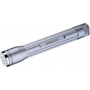 Batterien Gigalite LED Taschenlampe G17 mit 8 LEDs Lampe inkl