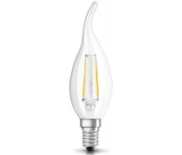 LED-Filament-Candle Windstoß EGB klar E14 230V 2W 250lm 2700K