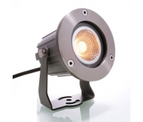 POWER SPOT 5W Strahler Aluminium Anthrazit 2300K IP65 300lm